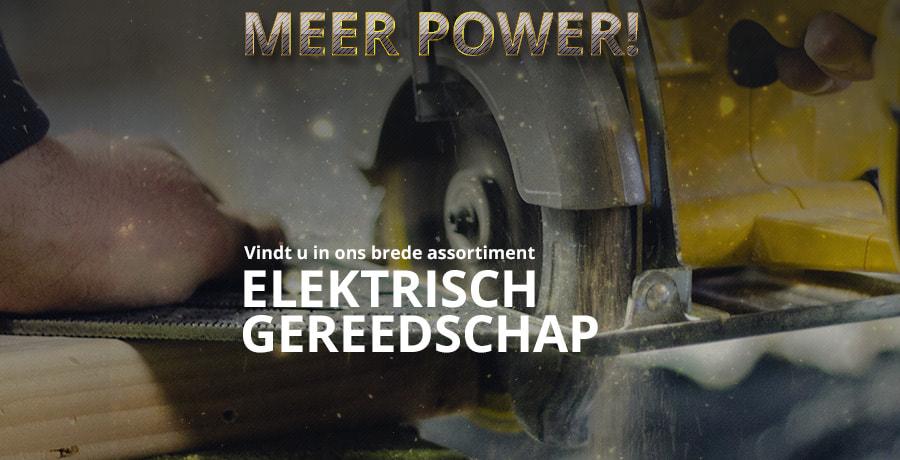 Elektrisch Gereedschap Gereedschapcentrum